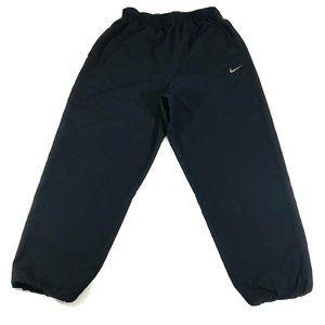 Nike Mens Black Pocketed Athletic Jogger Gym Pants